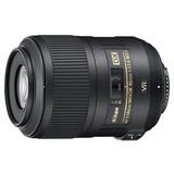 尼康(Nikon)AF-S DX 85mm f/3.5G ED VR 微距定焦镜头(ED低色散镜片 支持双对焦模式 内对焦 宁静波动马达)