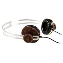 宾果(Bingle)i361耳机头戴式耳机麦克风(棕色)(可拆卸设计,耳壳耳扣两步拆装,超薄不锈钢材质的头夹设计,3.5mm标准镀金插针,传输不失真)