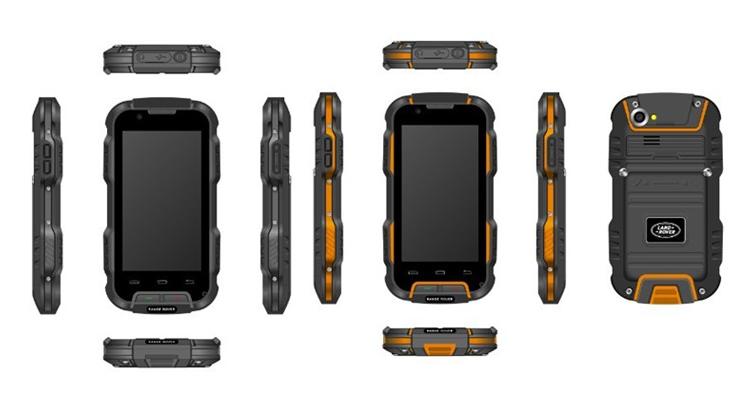 路虎(landrover)r1 四核智能三防3g手机 gsm/wcdma(黑色)