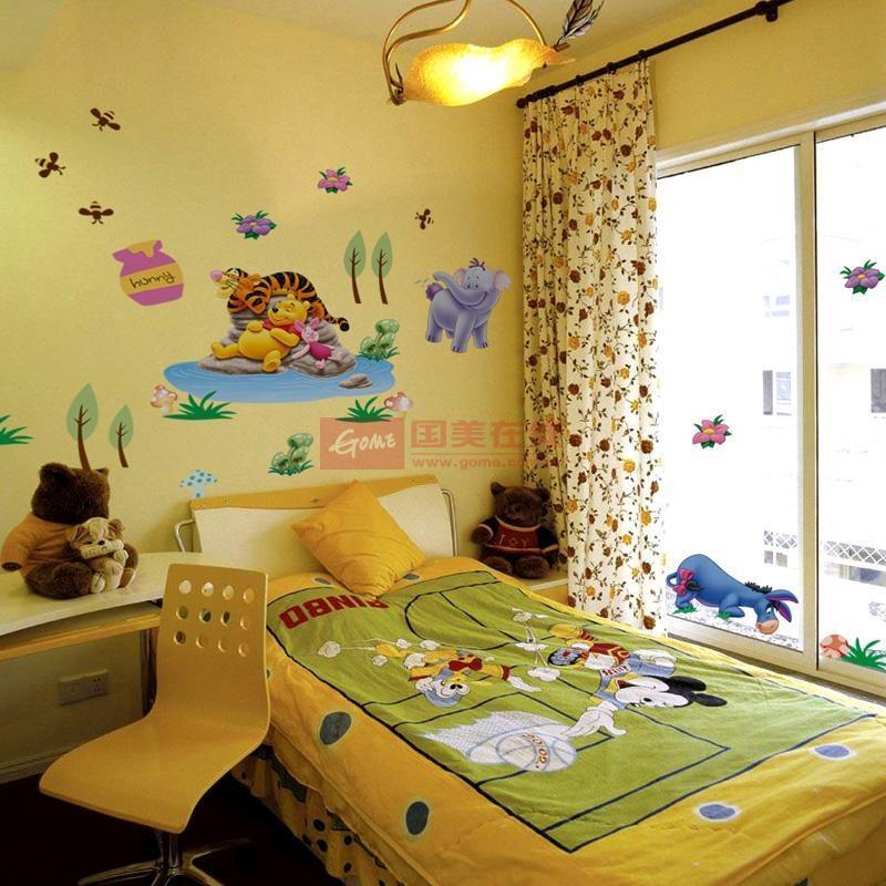 儿童房床头背景