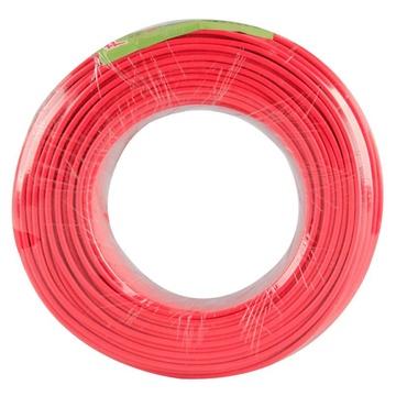 北京慧远电线zcbv阻燃单芯硬铜线2.5平方国标95米(红色)