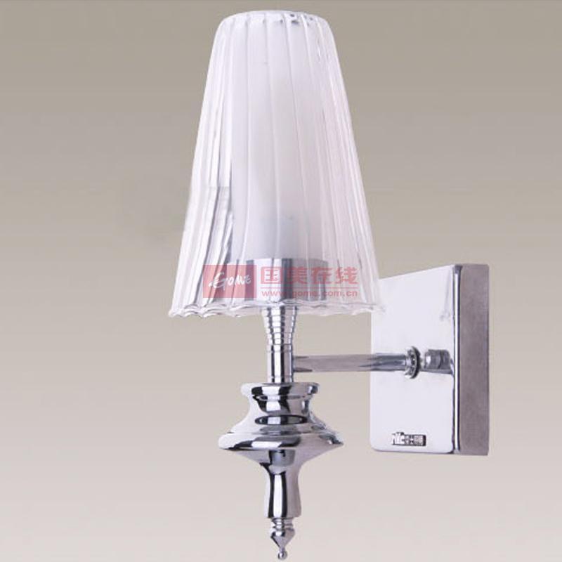 雷士照明简约现代欧式床头灯客厅卧室床头壁灯灯饰灯具nub2032-1(不带