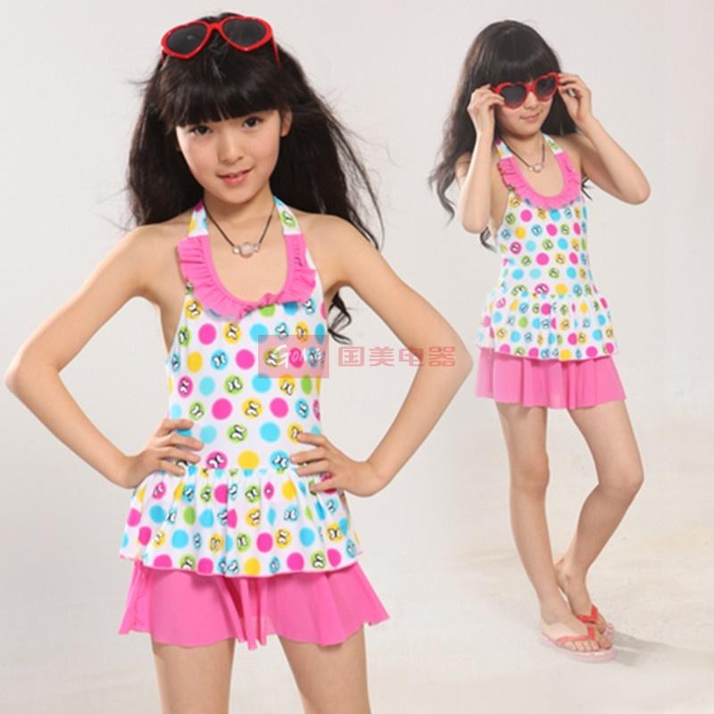 海韵莱儿童泳衣 可爱公主 韩版女孩儿童游泳衣937/938