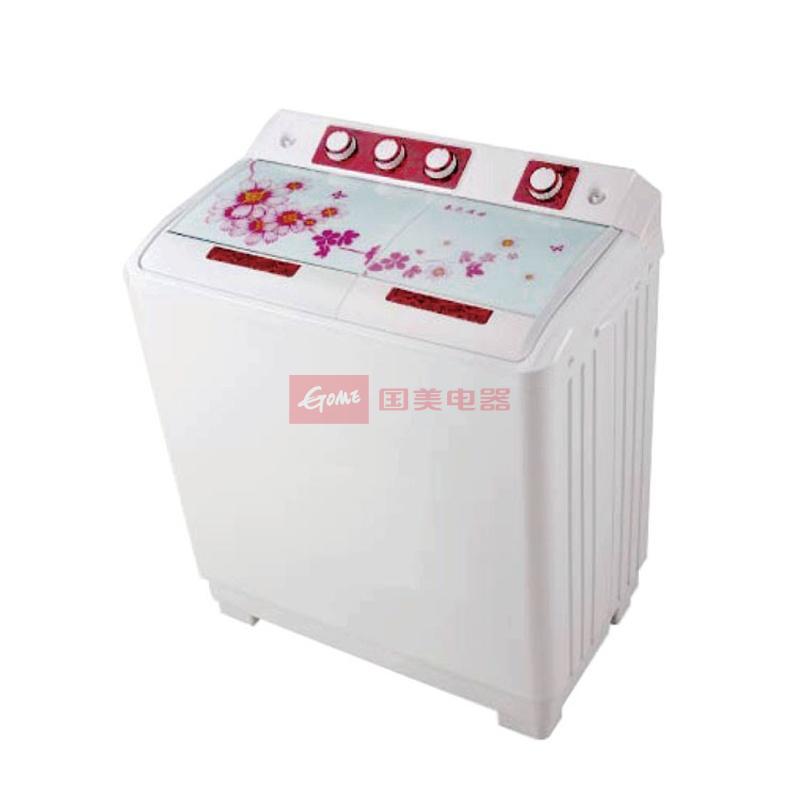 麦勒(mal)xpb95-2010s-951a 9.5公斤双缸洗衣机(牡丹红)