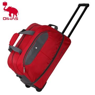 爱华仕超大容量短途旅行包无拉杆手提单肩旅游行李