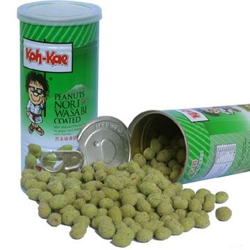 泰国进口 大哥牌香脆芥末味花生豆230g/罐