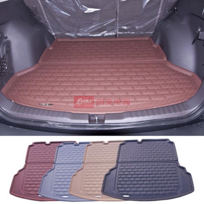 【宾爵后备箱垫棕色图片】爵尚尼桑新逍客专用汽车箱
