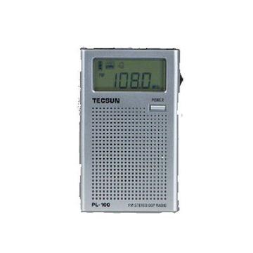 pl-100袖珍式数字调谐立体声dsp收音机
