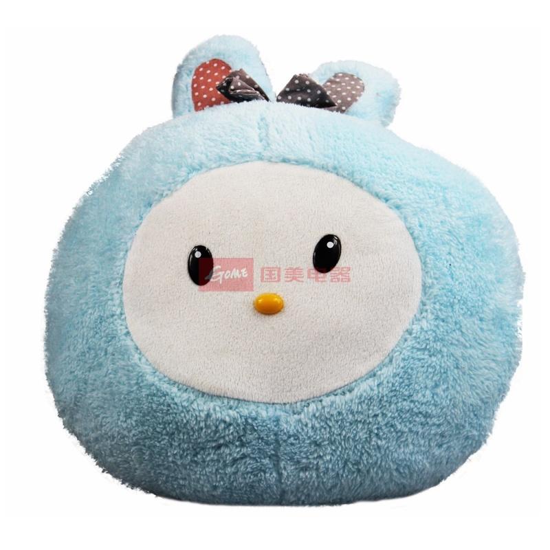 国美为您找到 儿童生日礼物 萌兔 暖手抱枕  礼品毛绒玩具 超可爱