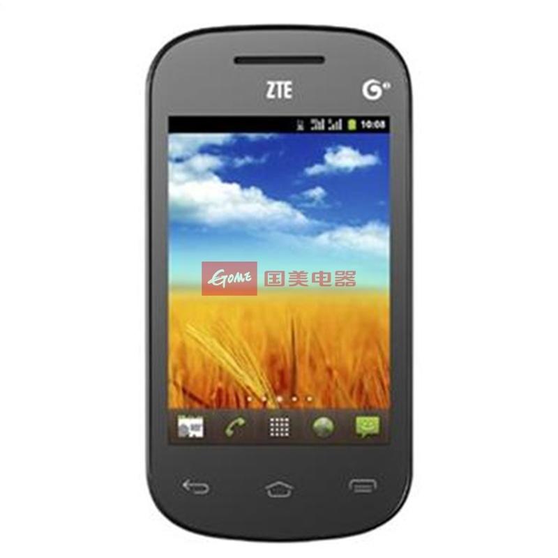 中兴(zte)u791 移动3g手机 td-scdma/gsm 双卡双模(黑色)