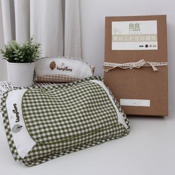 良良枕头哪欹io_良良婴儿枕头婴儿护型枕2-6岁防偏 防歪纠正护型抗菌枕头lla01-3护型