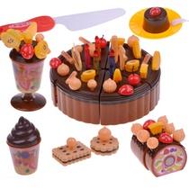 生日蛋糕 女孩子过家家玩具礼盒装儿童益智玩具