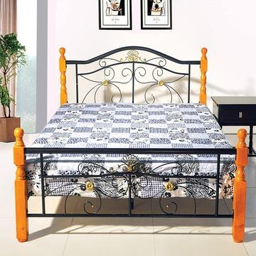 豪斯hd552 白色铁艺床