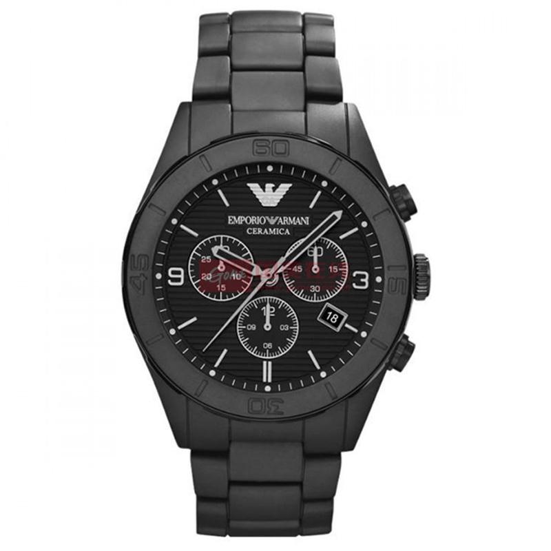 【阿玛尼瑞士品牌表图片】armani/阿玛尼手表 大表盘.