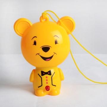 迷你小风扇 便携小黄人电风扇 超静音可充电式学生手持小电扇(小熊