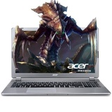宏�(acer)V5 573G 15.6英寸笔记本电脑 四代i5/i7处理器 GT750 4G独显 1080分辨率(银色 i5四代 GT720 2G 官方标配)