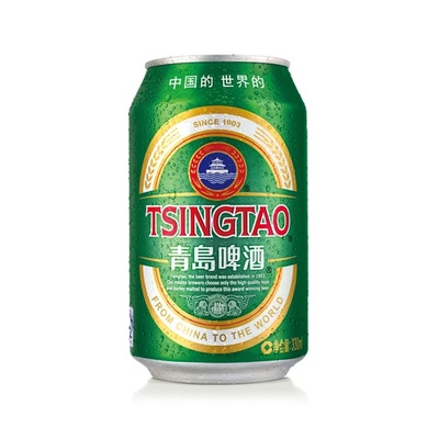 青岛啤酒 11度小罐330ml*24听