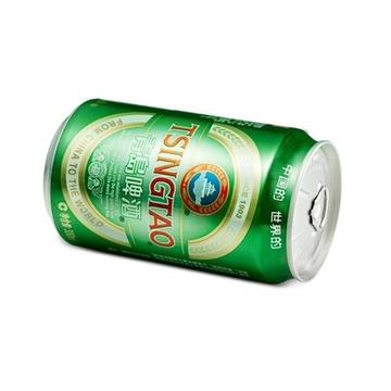 青岛啤酒 经典11度小罐330ml*24听整箱装