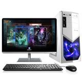 达客 23英寸IPS 至强E3 1231V3四核八线程 GTX750Ti独显2G高端游戏3D图形设计台式电脑(4G/500G 无DVD)