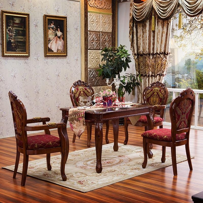 厚皮匠餐桌 欧式餐桌椅