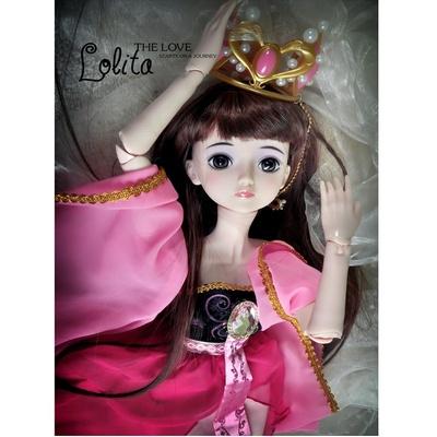 全关节可动叶罗丽娃娃夜萝莉娃娃动漫系列bjd娃娃换装