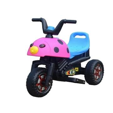 甲壳虫儿童电动车摩托车宝宝三轮车玩具车童车