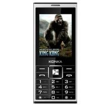 康佳(KONKA)D800 手机 语音王手写按键双输入 大字大键大屏大声 双卡双待手机 超长待机GSM(黑+银 官方标配)