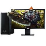 戴尔(Dell) 3647-R5038 台式电脑/双核/G1840/4G/500G/DVD/Win7 商务办公 游戏娱乐(含18.5英寸E1914H显示器)