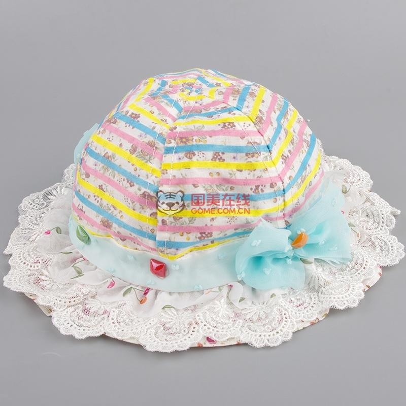 儿童帽子 幼儿帽宝宝帽子小公主帽子