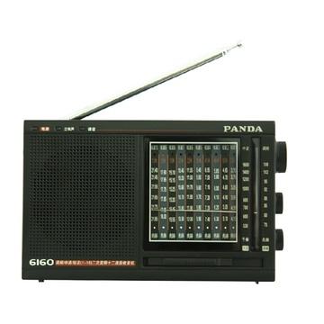 熊猫收音机(panda) 6160收音机多波段半导体指针便携式老人收音机