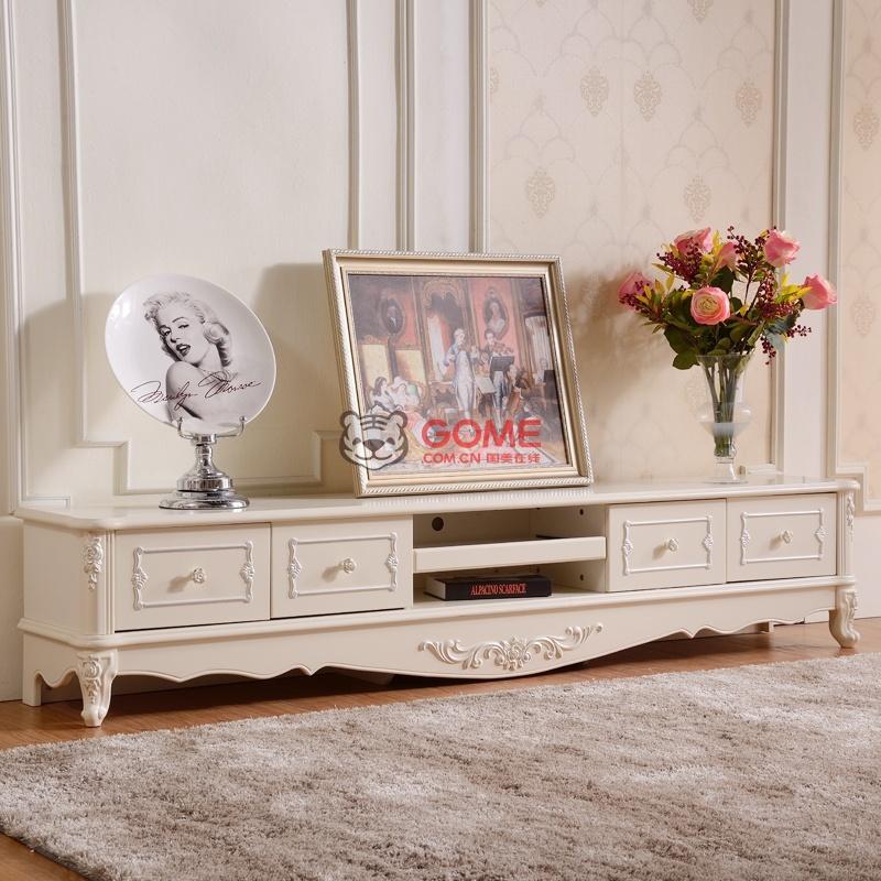 优恋家 法式客厅地柜 欧式电视机柜 简约木质矮柜 601