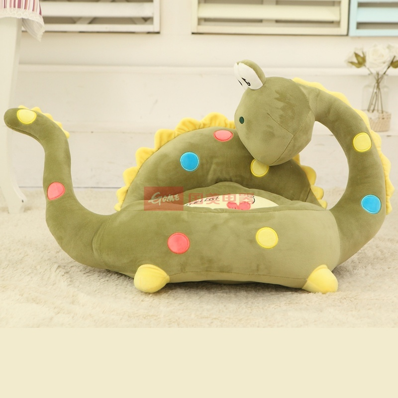 国美为您找到 可爱卡通懒人沙发小狗猴子青蛙幼儿居家毛绒