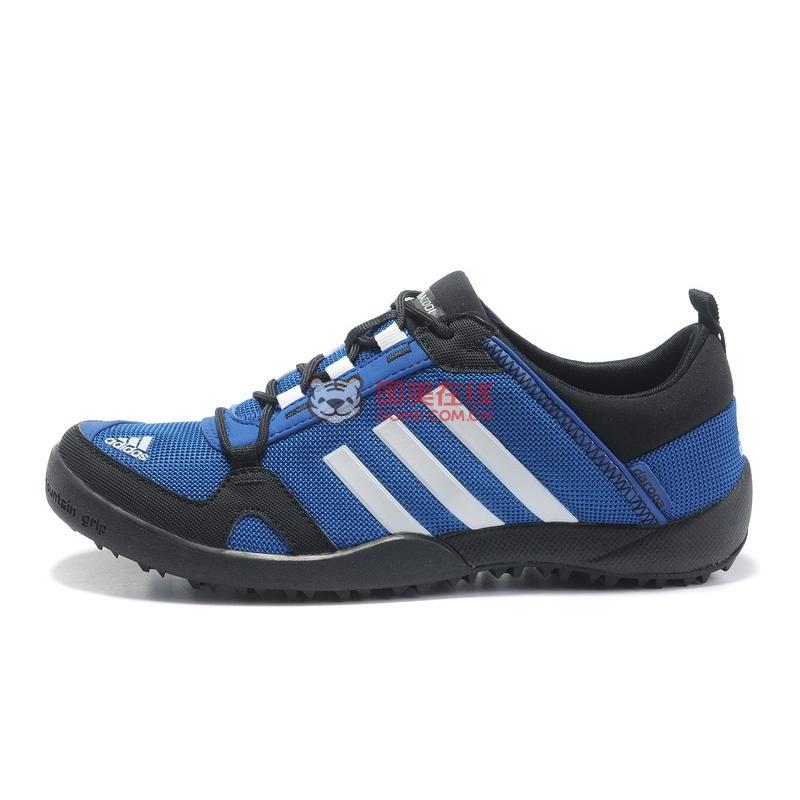 阿迪达斯运动鞋男鞋夏季透气网面adidas女鞋带情侣鞋