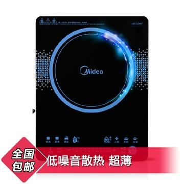 美的(midea)电磁炉 c21-rt2149 (家用电磁炉特价匀火智能超薄电池炉