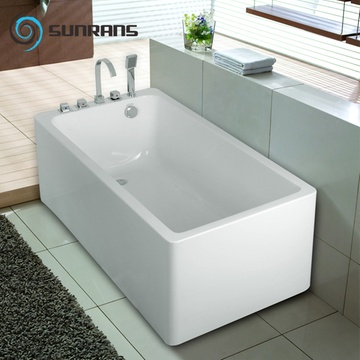 尚雷仕独立式浴缸亚克力欧式时尚简约五件套普通小