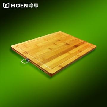 摩恩 厨房小配件 木质切菜板 砧板4022 沥水板毡板 水槽专用案板(竹制