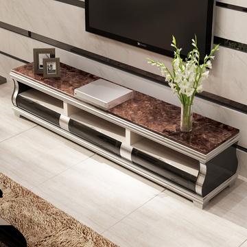 客厅简约小户型储物茶几电视柜组合