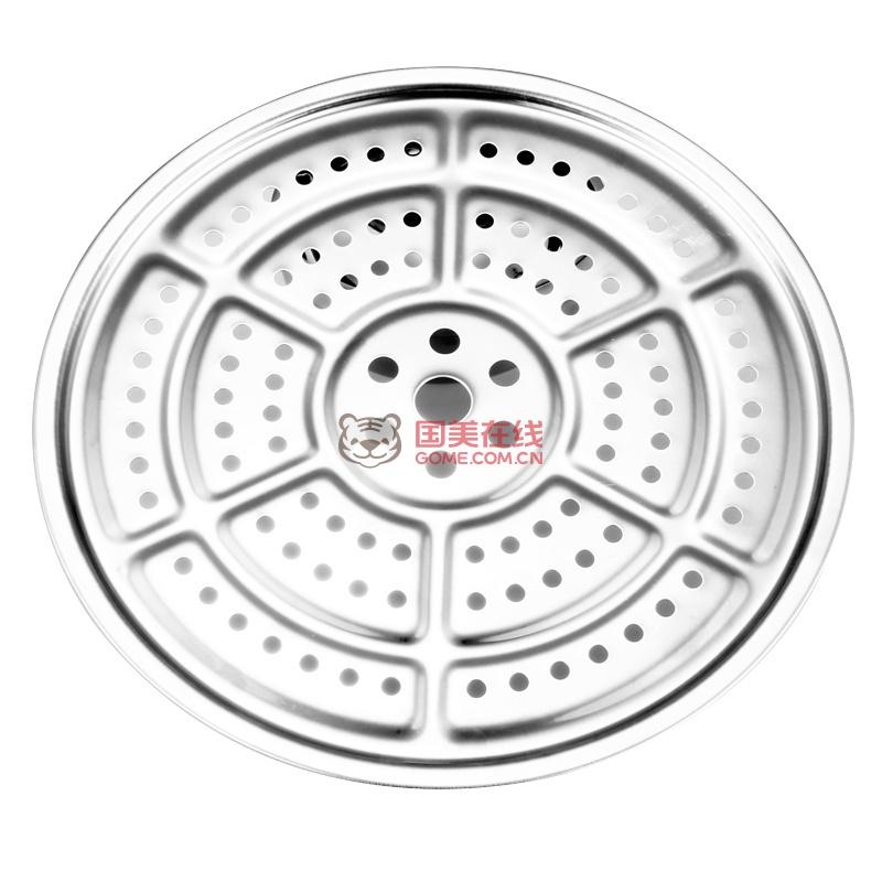 锐友 正品三层蒸锅不锈钢锅加高加厚多层蒸笼电磁炉通用锅具(30cm)
