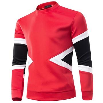 古莱登 秋季新款长袖卫衣男士太空棉休闲外套男三角形