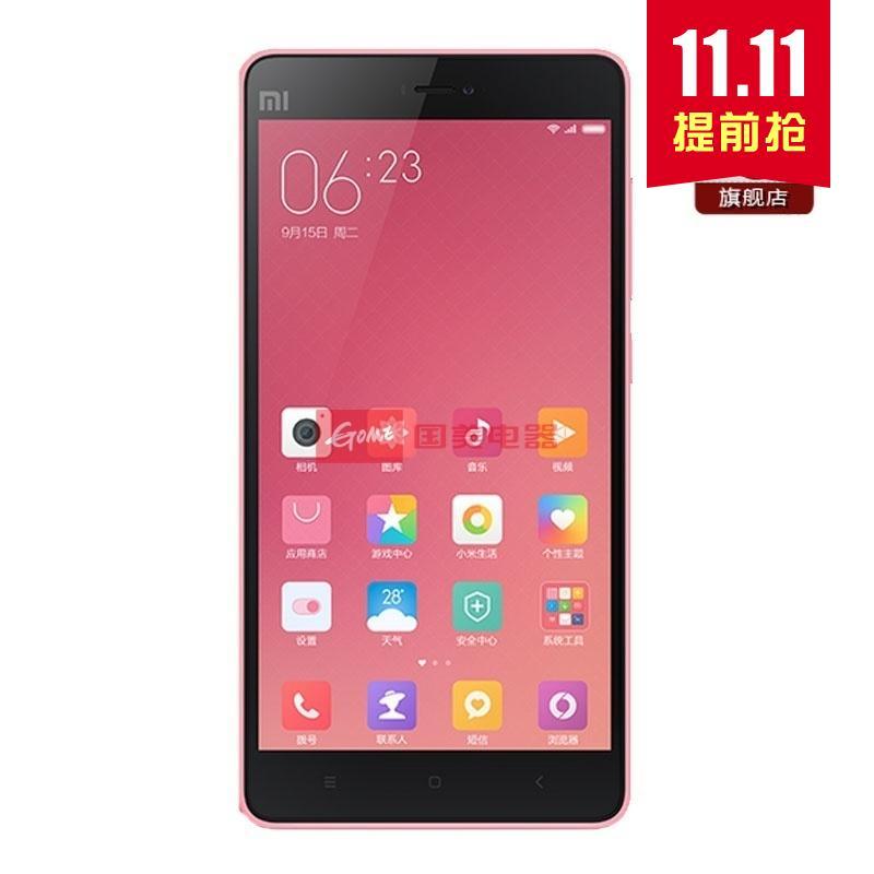【粉色小米4C全网小米手机4C4G手机通16G标小米小米id锁设置图片