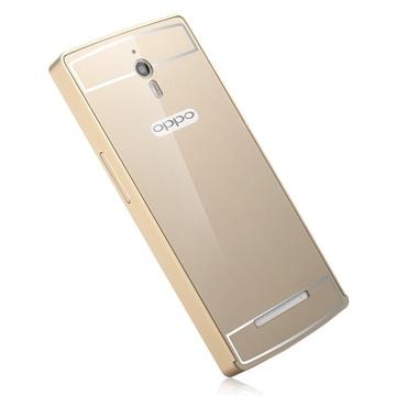 oppo x9007手机壳oppo find7手机保护套金属边框x9077
