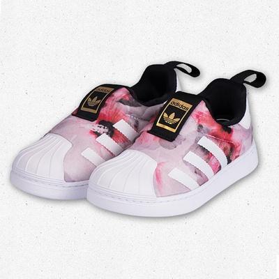 新款SPUERSTAR 阿迪达斯 Adidas 儿童鞋休闲板鞋运动鞋学步鞋童鞋 花色28