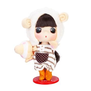 玩具迷你公主儿童仿真呆萌可爱洋娃娃(小羊冬己1805)