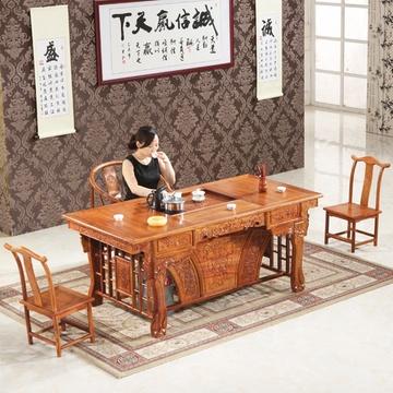 红木茶台 实木茶桌