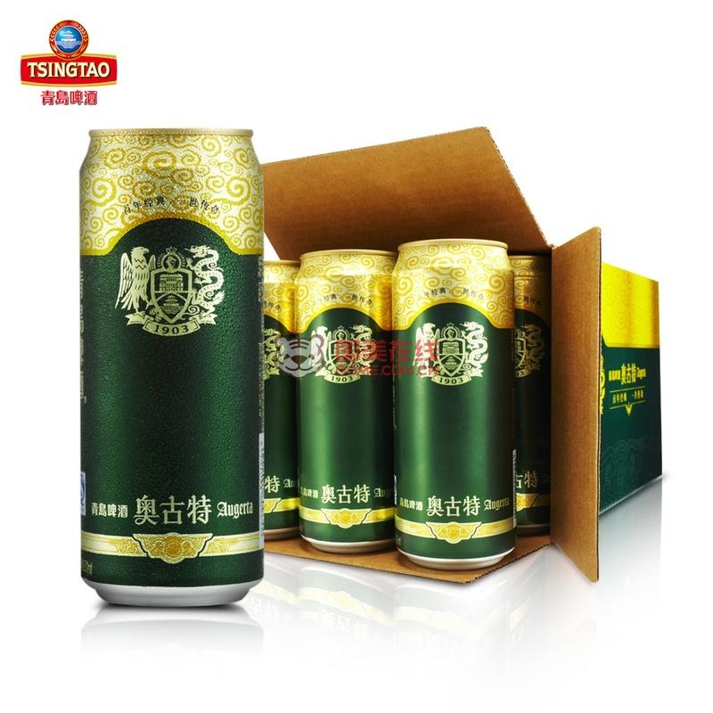 青岛啤酒 奥古特500ml*12听
