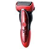 松下(Panasonic)ES-ST25 剃须刀(男士刮胡刀,拱形3刀头,磁悬浮马达,智能胡须检测系统)(红色 ES-ST25)