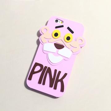 亿和源iphone6s卡通可爱顽皮豹手机壳苹果6plus软