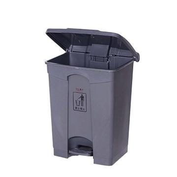 白云清洁脚踏垃圾桶方形