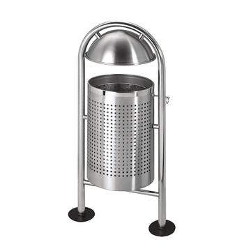 和畅gpx-102户外不锈钢垃圾桶单桶公用果皮