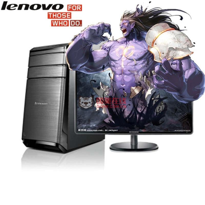 【联想k450台式电脑23英寸高清显示器大图】联想()锋